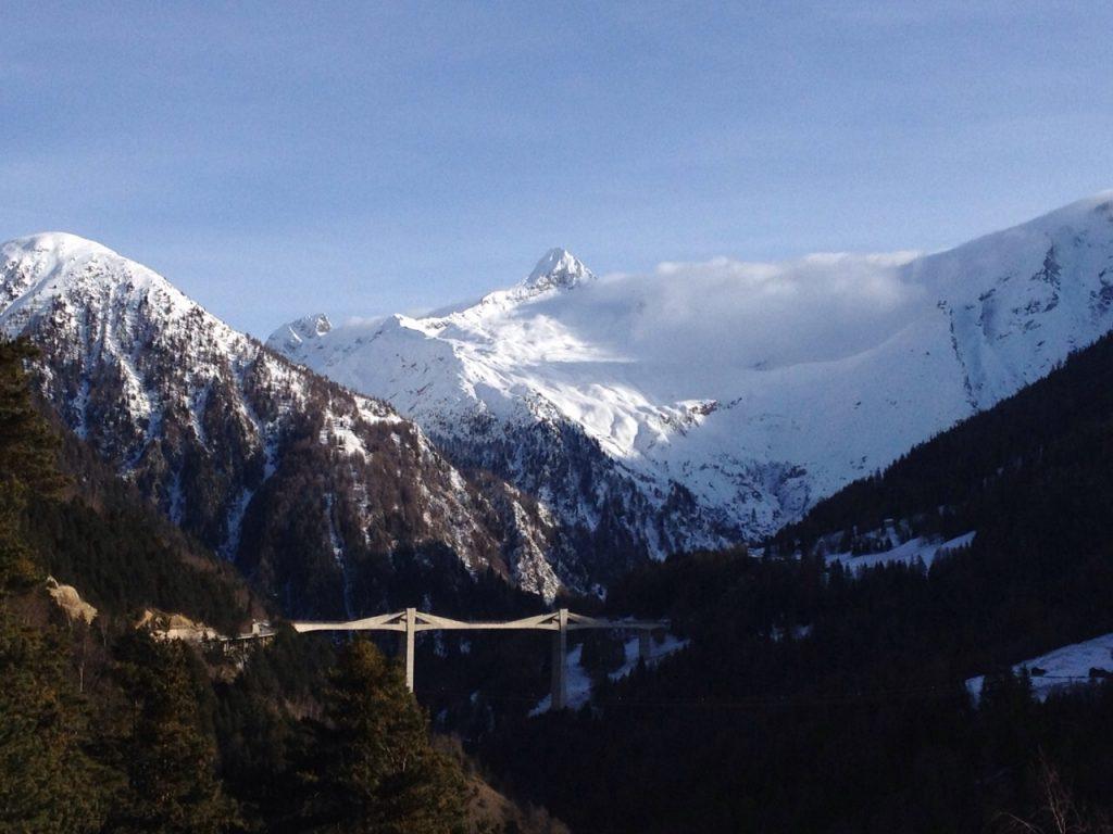 Главные альпийские перевалы Швейцарии