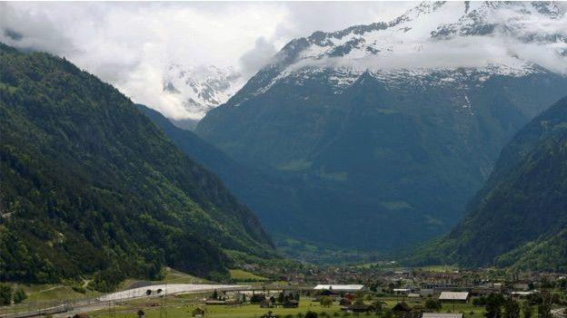 Главные перевалы Швейцарии. Перевал Готтард.