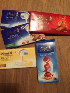 Lindt - знаменитый швейцарский шоколад