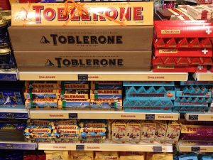 Шоколад Toblerone, mind the gap