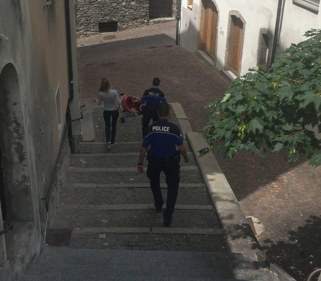 Уровень преступности в Швейцарии