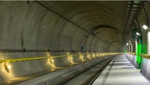 Cамый длинный железнодорожный тоннель в мире