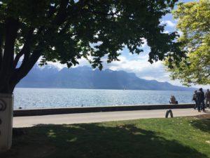 Вокруг Женевского озера. Веве.
