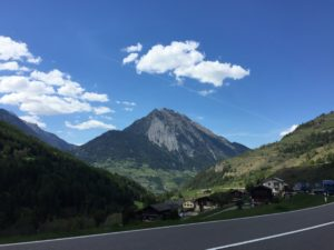 Главные перевалы Швейцарии. Перевал Сен-Бернар.