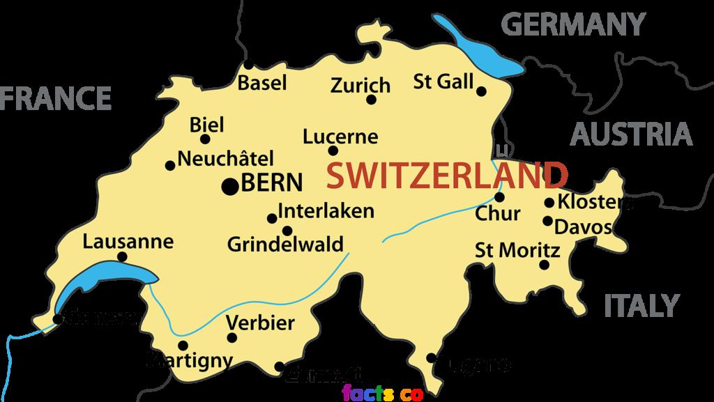 Интересные факты о Швейцарии. География.