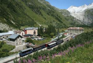 Главные перевалы Швейцарии. Перевал Фурка.